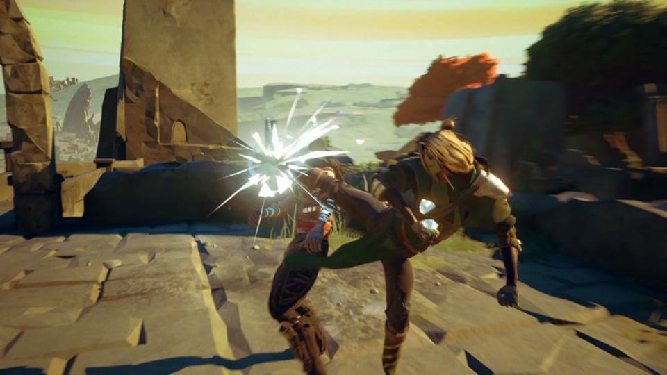 敵と師匠から技を盗んでコンボを作る格闘アクションRPG『Absolver』