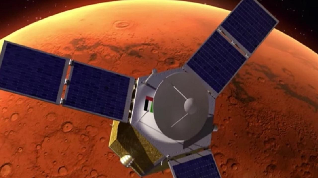 アラブ首長国連邦が描く、2117年火星コロニー計画