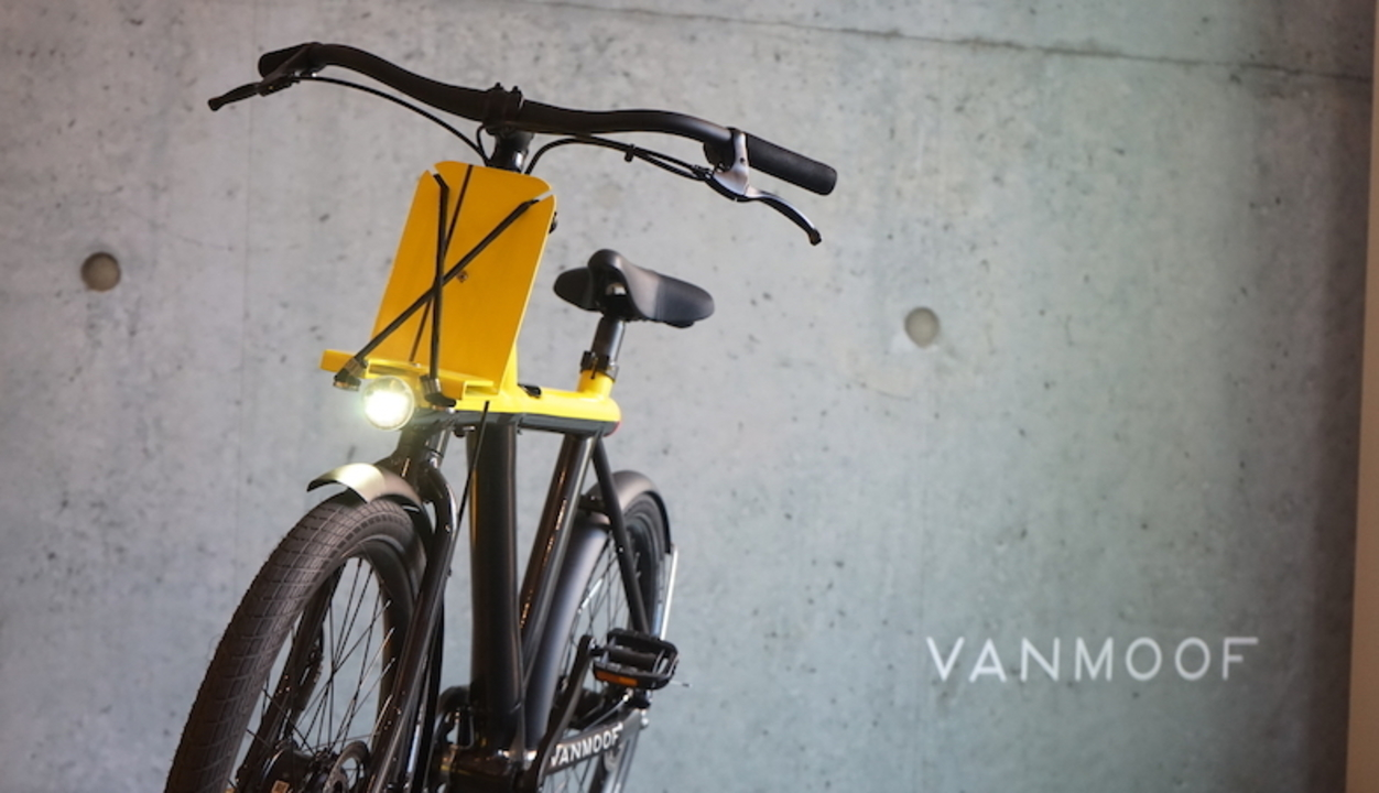 オランダ生まれの自転車ブランドVanMoof、盗難対策もバッチリなスマートバイク「Electrified X」を発表!