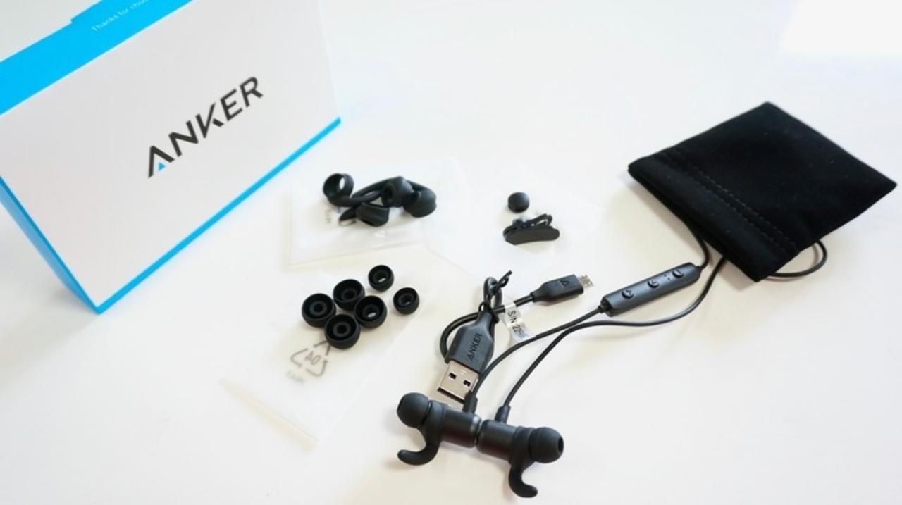 防水&軽量Bluetoothイヤホン『Anker SoundBuds Slim』レビュー。安い、だけどこれ悪くない