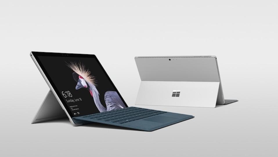 Microsoftが新型「Surface Pro」発表! シリーズ最軽量、LTEオプション