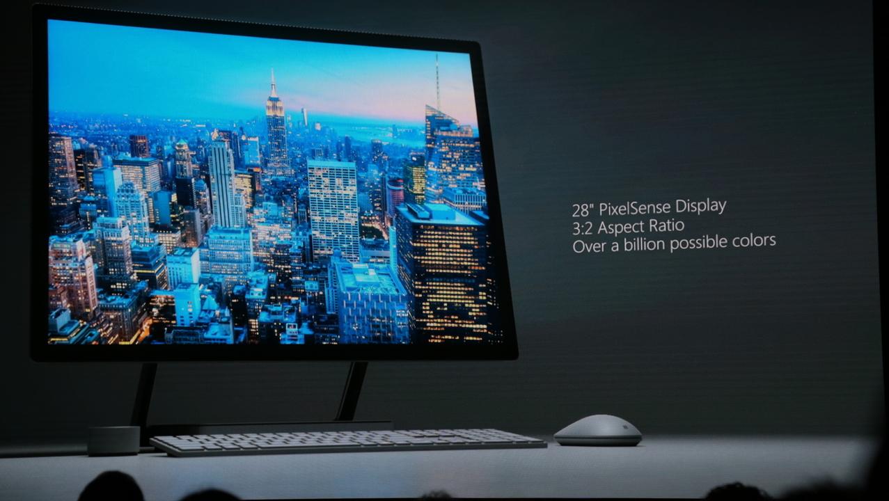 Microsoftの一体型PC「Surface Studio」日本発売日は6月15日!
