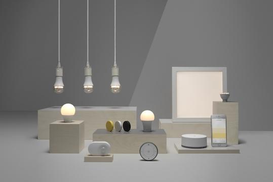 IKEAのスマート電球がApple、Google、Amazonのデジタルアシスタントに対応します