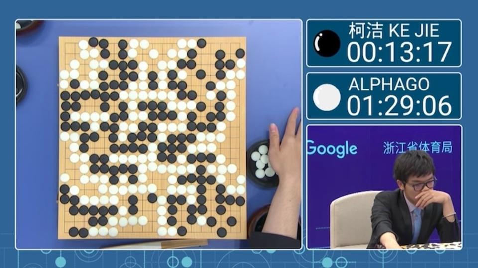 柯潔vsアルファ碁1局目は人類完敗。中国がネット中継を全面ブロック
