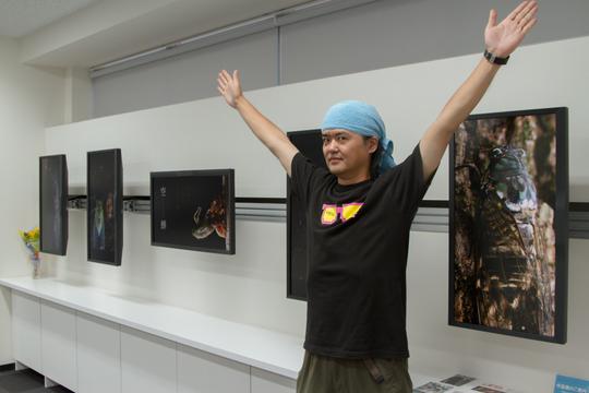 4Kモニターで体験するジェットダイスケ写真展『空蝉』。高精細なセミを捉える救世主となったのはiPhoneでした