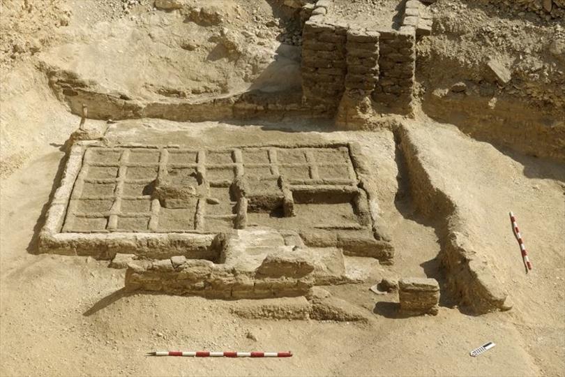 エジプトで、約4,000年前の墓地の庭園が初めて発見される