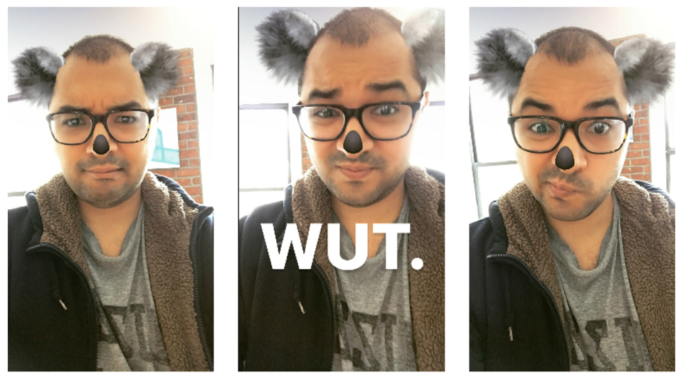 肝心なところを忘れてない? SnapchatをパクったInstagramの残念な「顔フィルター」