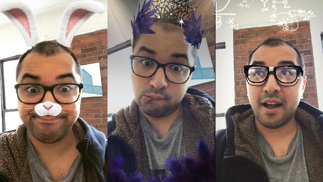 肝心なところを忘れてない? SnapchatをパクったInstagramの残念な「顔フィルター」2