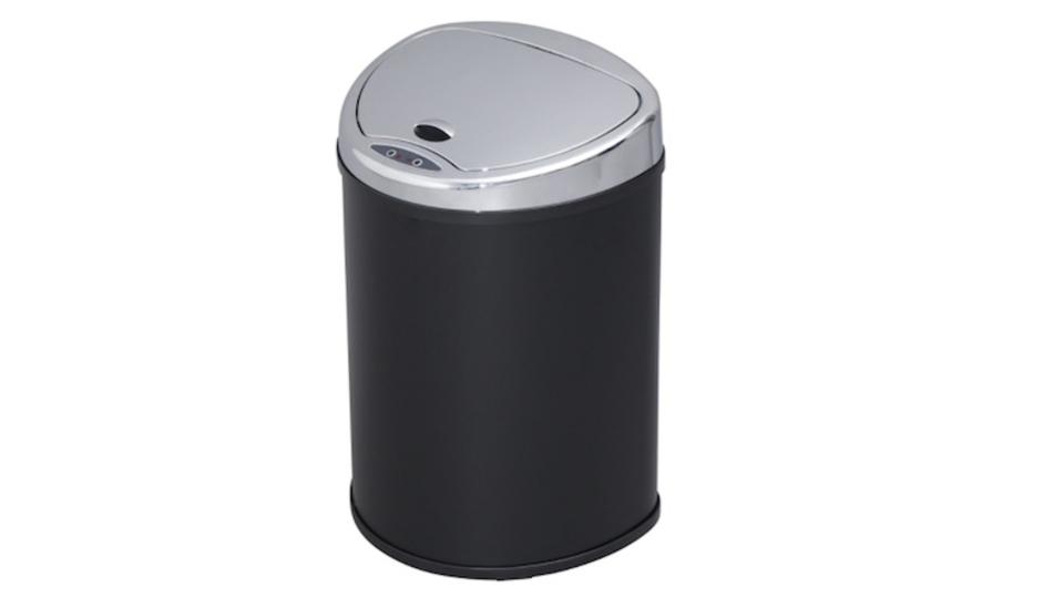 自動開閉で衛生的。どんな部屋にもマッチするスタイリッシュなセンサー付きゴミ箱