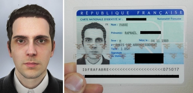 フランスのアーティスト、身分証の写真を自作して無事登録される