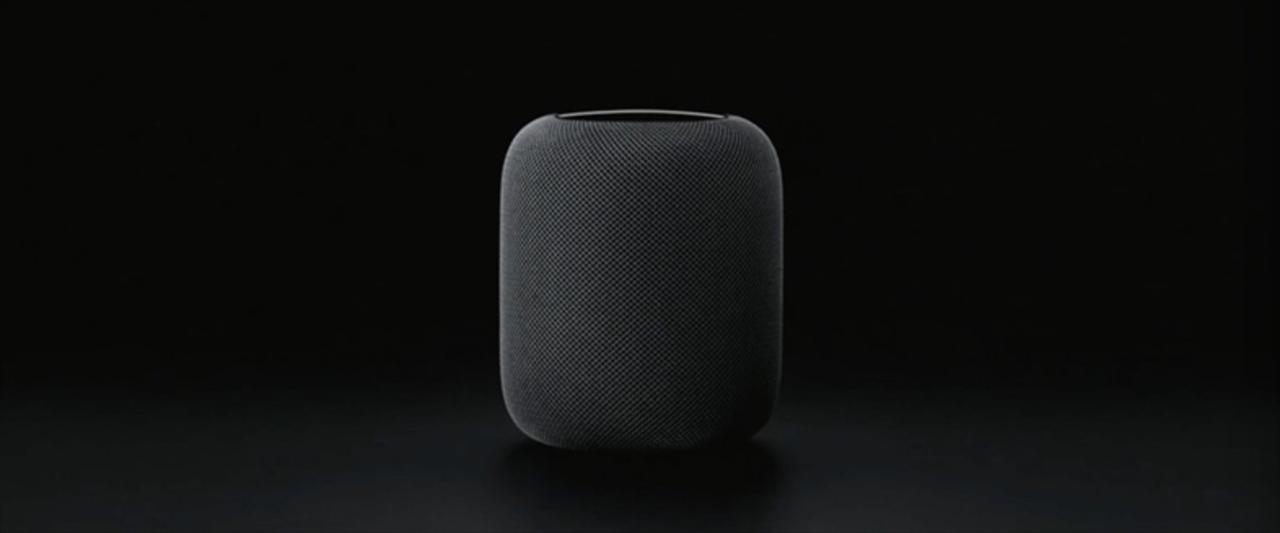 Appleがスマートスピーカー「HomePod」を発表! ホームアシスタント+ビームサウンドでおウチを進化 #WWDC17