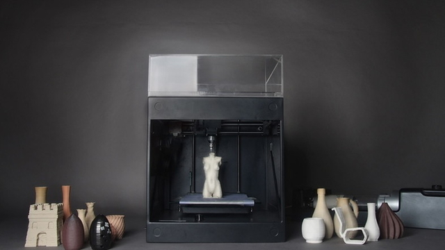 陶芸や彫刻も印刷する時代。粘土で出力できる3Dプリンターが資金調達中