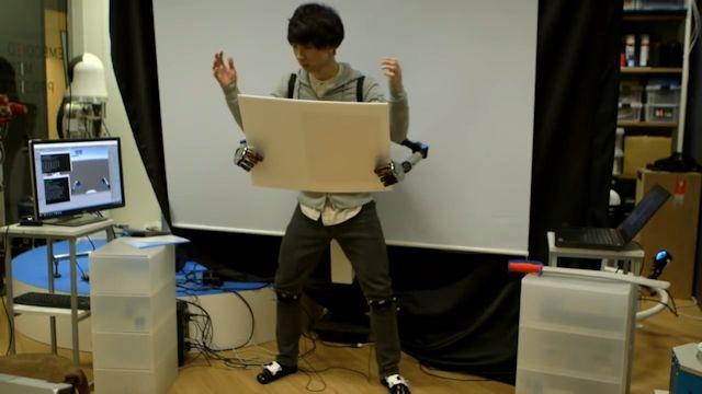 自動化じゃない、自在化だ!4本腕になれる「MetaLimbs」で人間の体の限界を超えろ4