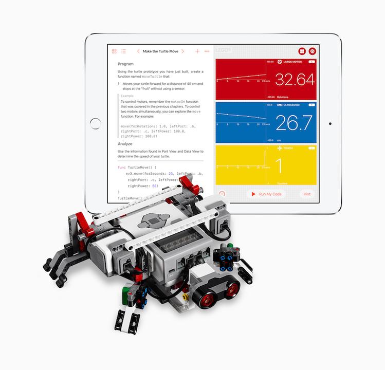 プログラミング教育アプリSwift Playgrounds、ドローンやロボットも動かせるように