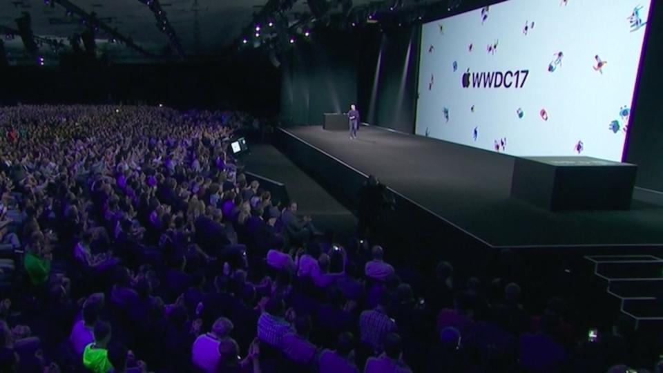 WWDC 2017のキーノート講演がさっそく見れるようになったぞ!#WWDC17