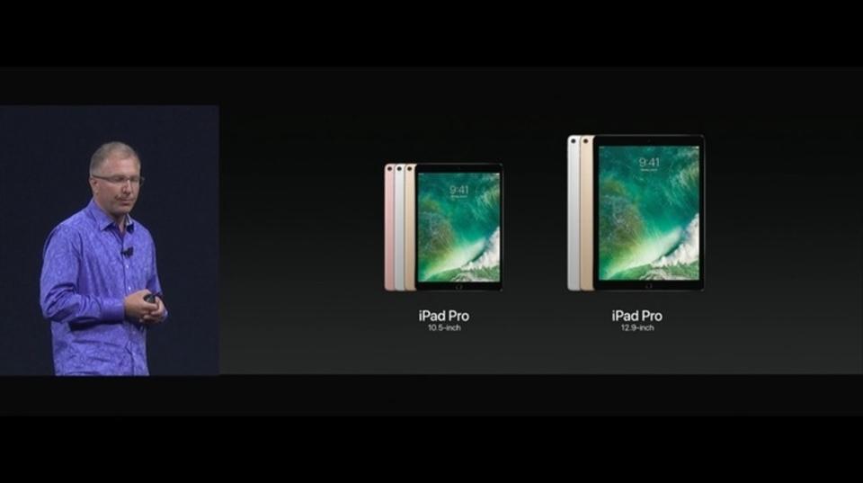 iPad Proシリーズに10.5インチモデルが加わってリニューアル。今日から予約できますよ #WWDC17