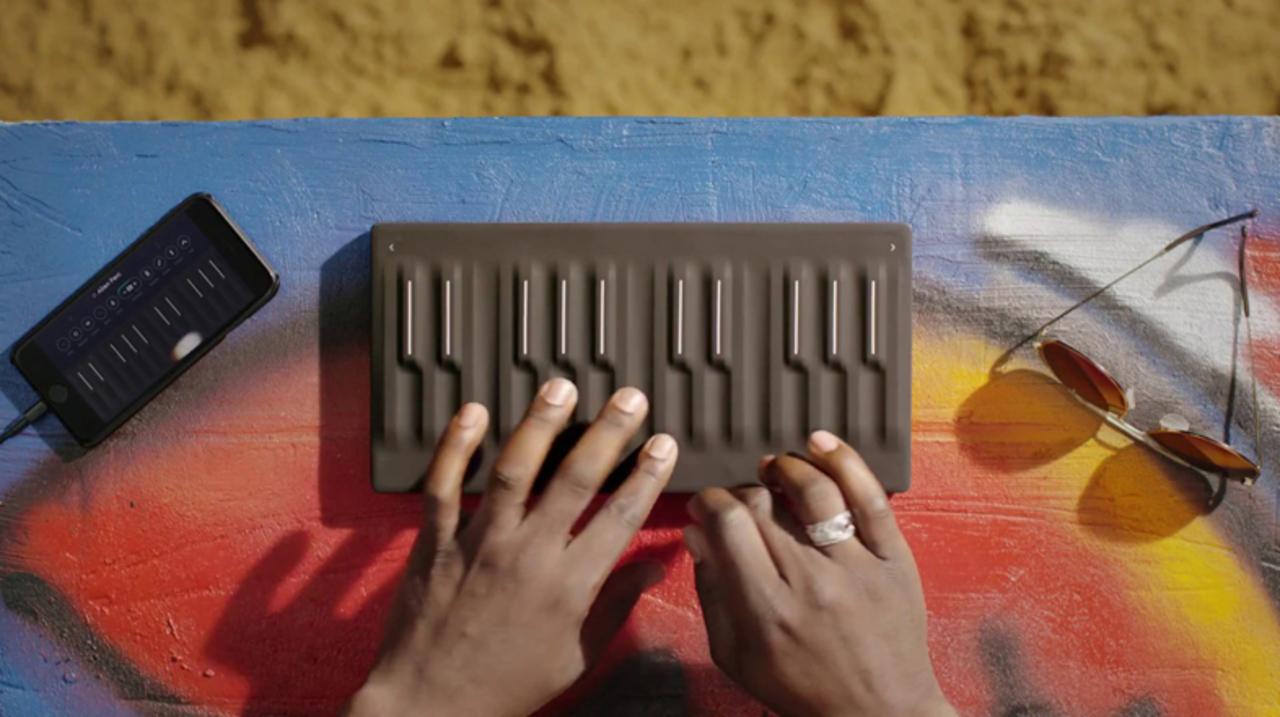 五次元タッチキーボード「Seaboard」にリーズナブルな24鍵版が登場。なんと連結もできる!