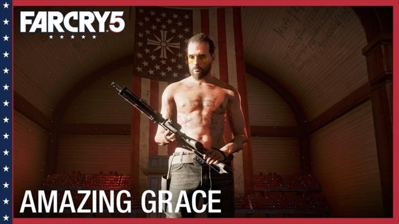 サバイバルFPS『Far Cry 5』トレーラー&プレイ動画。対カルト集団には犬が強い?