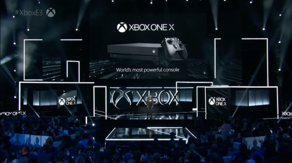 【E3 2017】新ハード「Xbox One X」が登場! Microsoftのブリーフィング【リアルタイム更新終了】