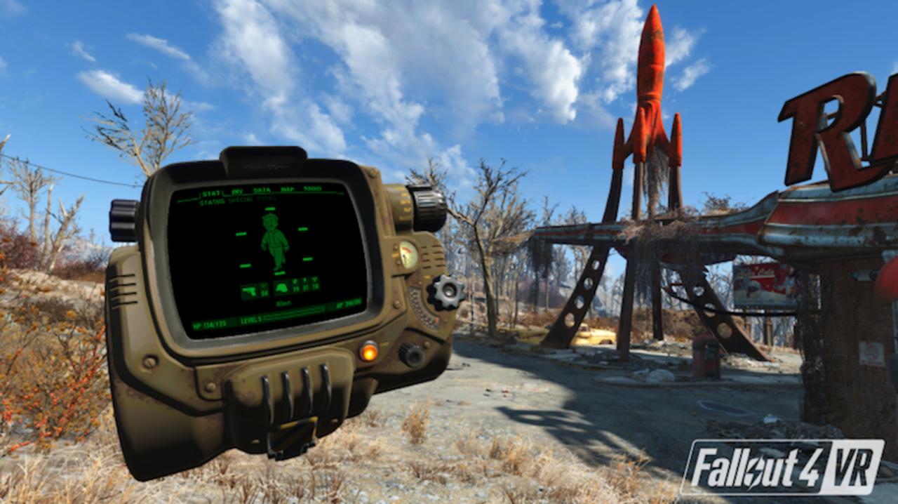 VR版『Fallout 4』と『DOOM』のトレーラーが公開