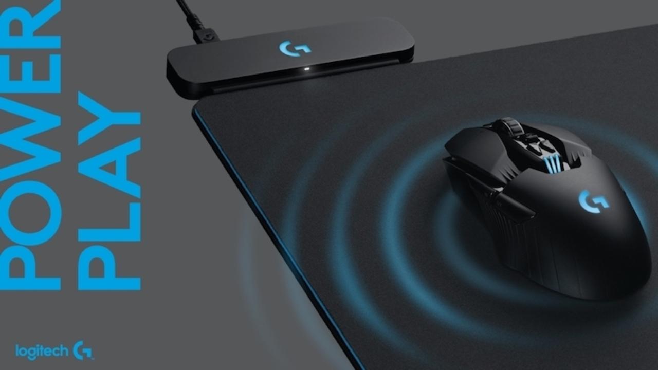 ワイヤレスマウスを使いながら充電できるパッド「PowerPlay」、Logitechが発表