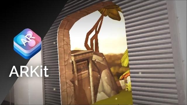 Apple「ARKit」で作ってみた動画がYouTubeにいっぱい!