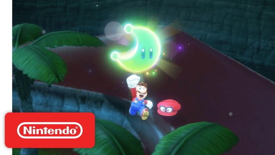ニンテンドースイッチ用『スーパーマリオ オデッセイ』は帽子のキャッピーを使ってふたり同時プレイが可能!