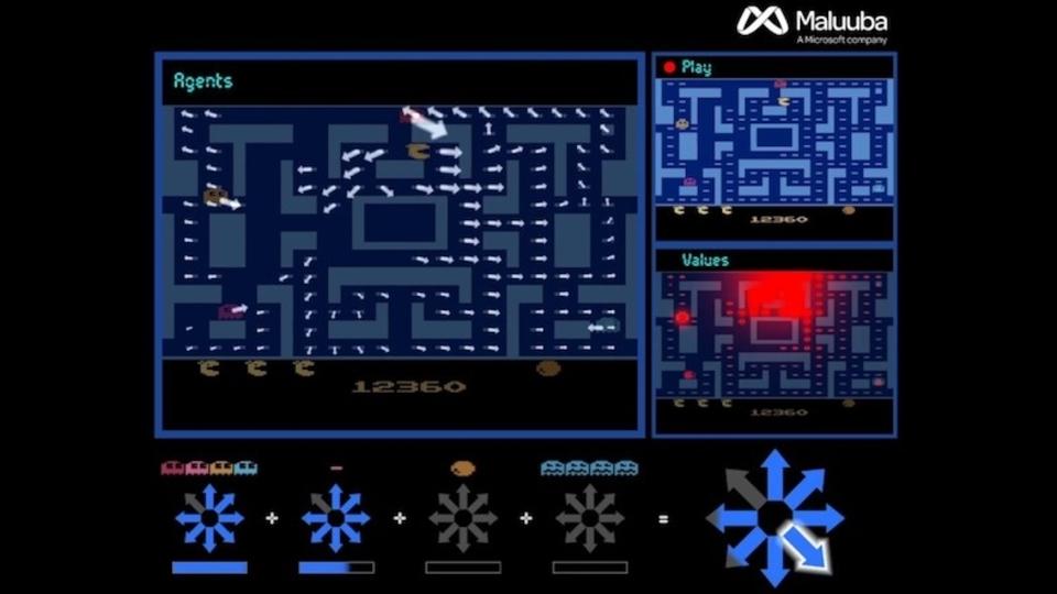 マイクロソフトのAIが「ミズ・パックマン」を完全攻略するスゴい動画