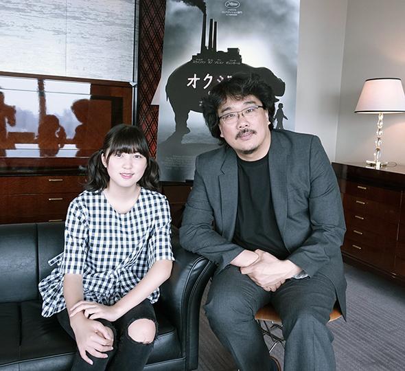 映画『オクジャ/okja』ポン・ジュノ監督&主演のアン・ソヒョンにインタビュー:「日常で目にしない生命体をスクリーンで見る経験そのものに不思議な魅力がある」