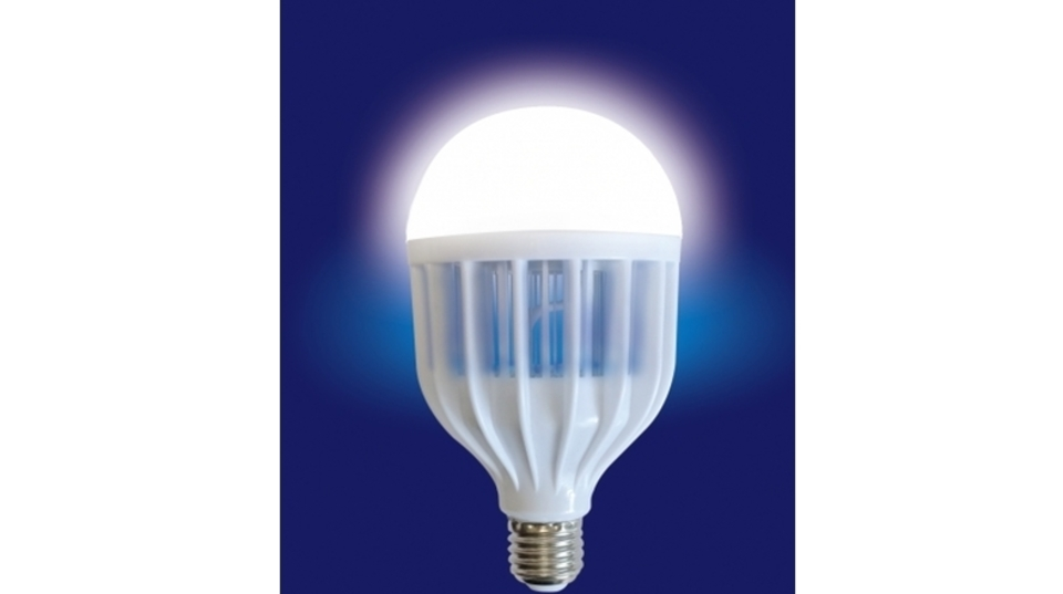 殺虫機能がついたLED照明、その名も「スーパームシキラー」