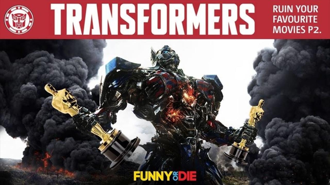 『トランスフォーマー』があなたの好きな映画を破壊し尽くす!