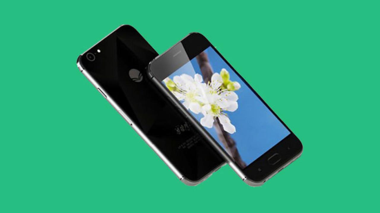 北朝鮮の最新スマートフォンが、ものすごくiPhoneです