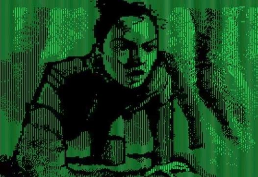 映画『スター・ウォーズ/最後のジェダイ』特報を1984年に発売された「Apple IIc」を使ってリメイク