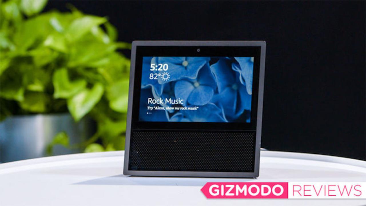Amazon Echo Showレビュー:Echo+画面=便利に決まってる