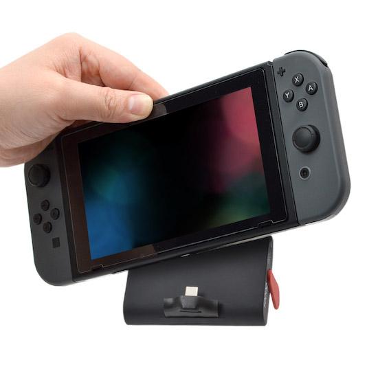 Nintendo Switch用置くだけモバイルバッテリー10000mAh 1