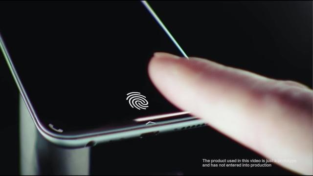中国VIVOがディスプレイ埋め込み型の指紋センサー技術を公開。スマホのテンプレとなるか?