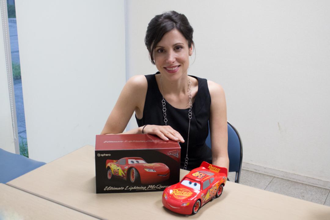 Sphero社のCMOケリー・ギアにインタビュー。ライトニング・マックィーンで見せるロボットと人間の関係への挑戦