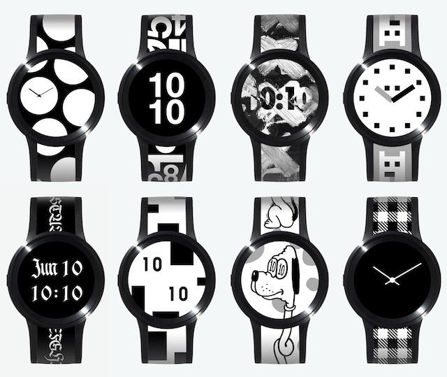 好きなデザインを身にまとえ。ソニーの電子ペーパー搭載腕時計「FES Watch U」発売開始2