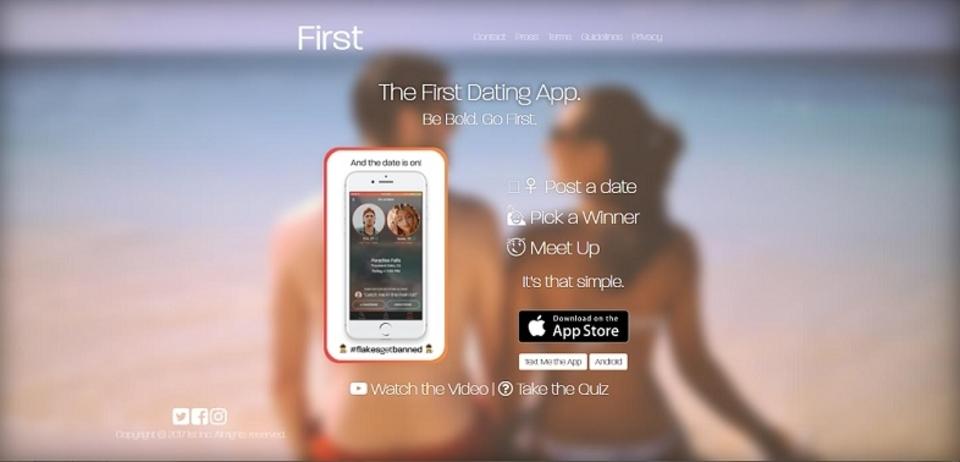 出会い系アプリに新風! メッセージのやりとり一切なし、まず初デートに行くアプリ