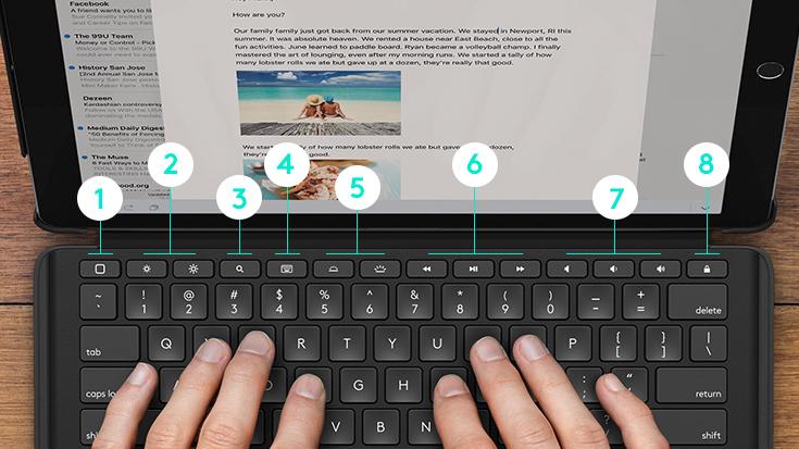 「iPad Pro の究極の友」? ロジクールのバックライトキーボードつきケース2