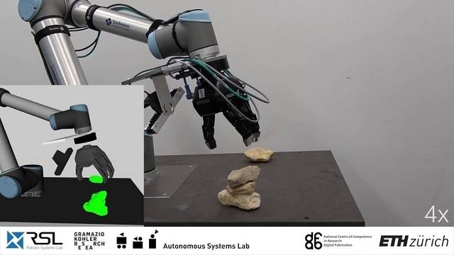 賽の河原も火星移住もクリア。非定型な石を積み重ねるロボット