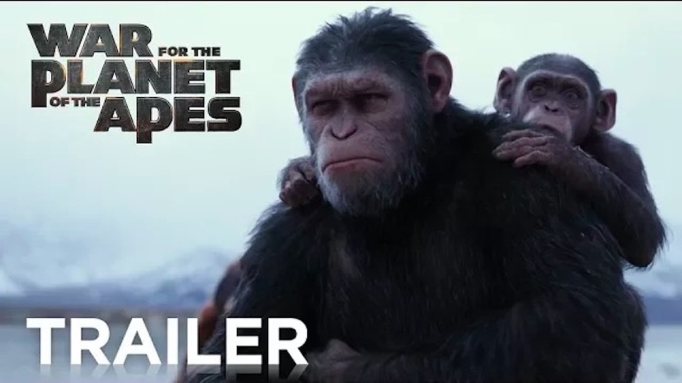 映画『猿の惑星:聖戦記』予告編。シーザーが激怒した訳とは……!?