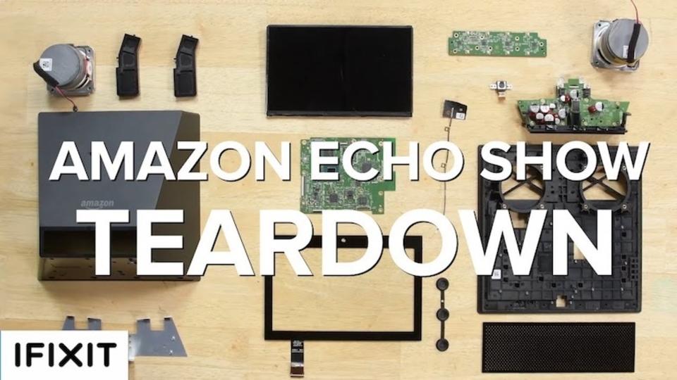 タッチスクリーン付きのあいつ。「Amazon Echo Show」分解レポート