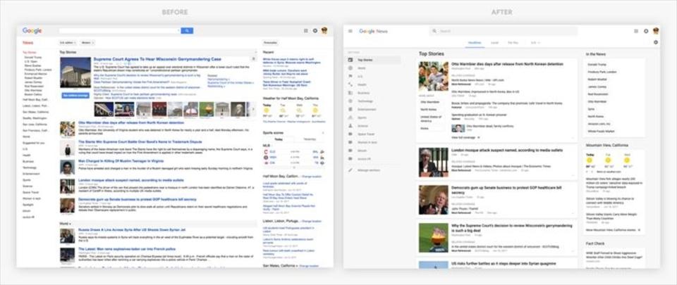 Googleニュース新デザインが不評の嵐。1週間でヘルプに苦情880件