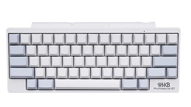 プロフェッショナル向けキーボード「HHKB」に新色追加。白です