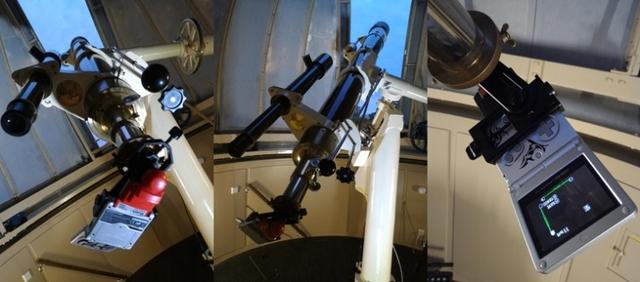 ゲームボーイの「ポケットカメラ」で撮影した月と木星