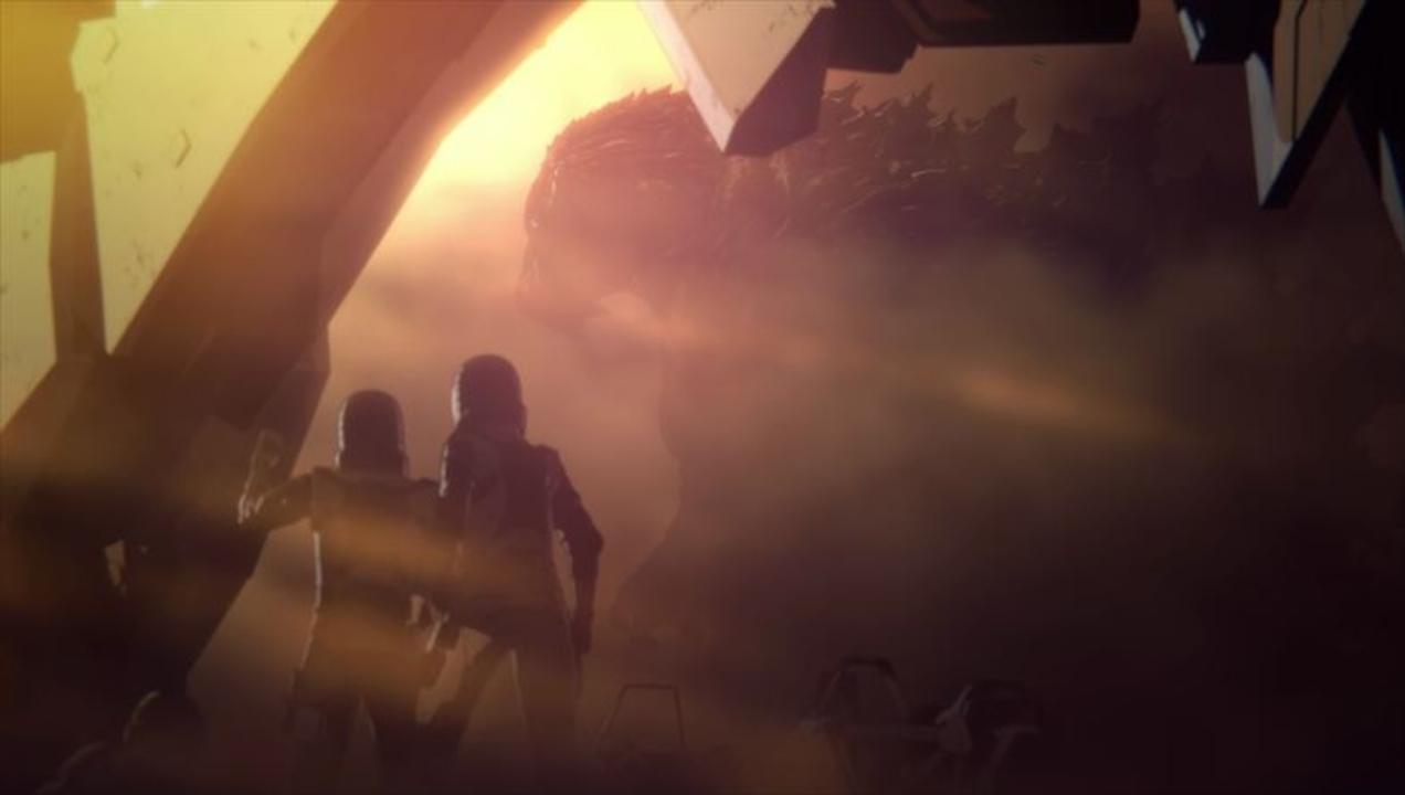 アニメ映画『GODZILLA 怪獣惑星』特報。2万年後の地球に帰還した人々が遭遇したのは…!?