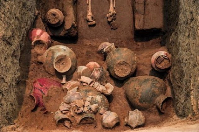 2 5,000年前の中国では身長約180センチ越えの集団が存在していた