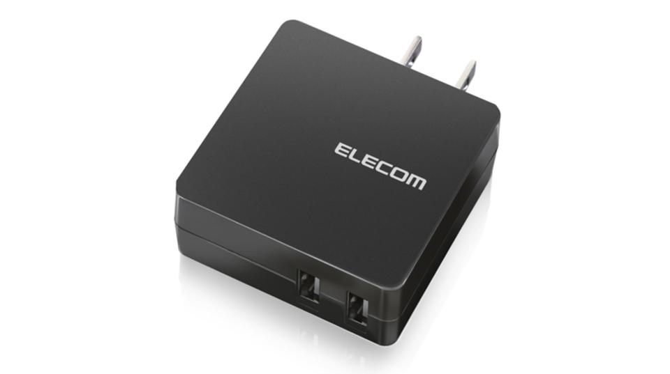 さらば、コンセント奪い合い競争。エレコムの2口USBポート充電器がお買い得!