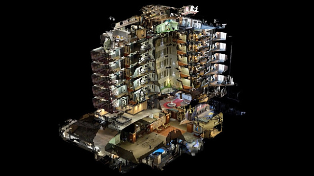 ホテル全体をMRIに通したらきっとこんな感じ
